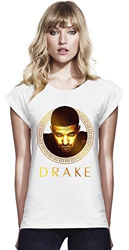 drake-dope-swag-gold-portrait-continental-frauen-rolled-hulsen-t-shirt-women-rolled-sleeve-t-shirt-s