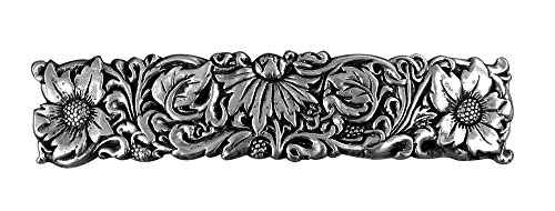 Willdflower Hair Clip | Hand Crafted Metal Barrette Made in the USA with imported French Clips By Oberon Design ...
