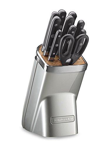 KitchenAid KKFMA11SR Professional Series 11 Piece Cutlery Set, Sugar Pearl (Kitchenaid Peeler Set compare prices)