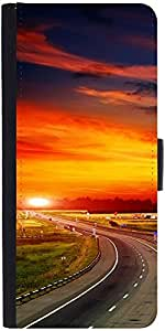 Snoogg The Way To Sunset designer Protective Phone Flip Case Cover For Lg Nexus 5X