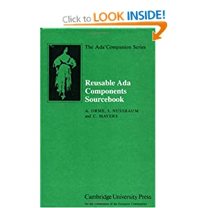 Reusable Ada Components Sourcebook (The Ada Companion Series)