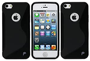 Apple iPhone 5s Set of 2 S Line Soft Gel TPU Anti-skid Back Case Cover