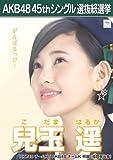 【兒玉遥】 公式生写真 AKB48 翼はいらない 劇場盤特典