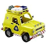 Fireman Sam 2 Vehicle Set Includes Mountain Rescue 4 X 4 Jeep & Quad Bike With Fireman Sam Figure