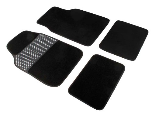 TURBOCAR-642024-Moquette-tappeti-con-strato-in-PVC-Set-di-4