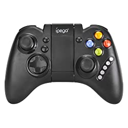 Ipega Game Controller Joypad Gamepad Game Controller Joystick for Tablets mobiles and smartphones-Black PG - 9021
