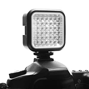 LightLINK Rechargeable Ultra-Bright LED Camera / Video Light with Hot Shoe and Tripod Adapter for Canon , Sony , Nikon and Other DSLR Cameras