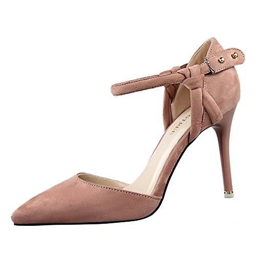 ivan-womens-elegance-breathable-hollow-suede-leather-thin-high-heel-shoes37-m-eu-65-bm-us-brown