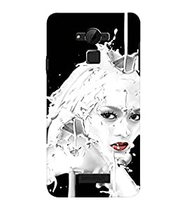 EPICCASE Milky face art Mobile Back Case Cover For CoolPad Dazen Note 3 Lite (Designer Case)