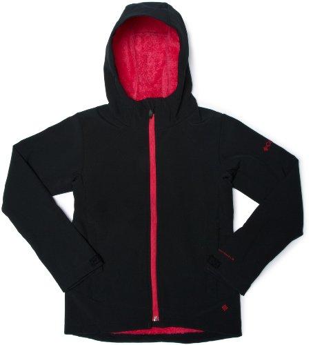 Columbia Phurtec II Soft Shell Youth Jacket - Black, Size 10/12