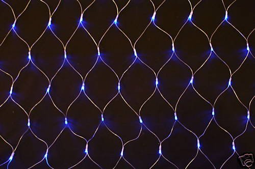 Christmas Concepts 180 Blue Led Chasing Net Lights Indoor/Outdoor (L39)