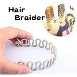 Vktech Hair Braider Twist Styling Braid Tool Magic Wonder Holder Clip DIY French