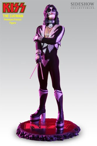Buy Low Price Sideshow The Catman Kiss 1:4 Premium Format Figure Featuring Peter Criss (B000GPYR6C)