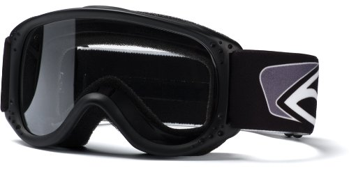 Smith Optics Junior MX Goggle (Youth Ages 3+, Black)