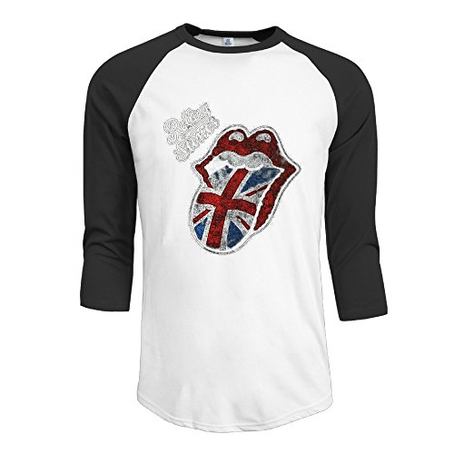 Mens Rolling Stone Half Sleeve Colleges Shirts Half Sleeve T Shirts (Singer 754 compare prices)