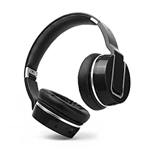 buy nakamichi bluetooth over ear headphones bthp02 black online at low prices in india. Black Bedroom Furniture Sets. Home Design Ideas