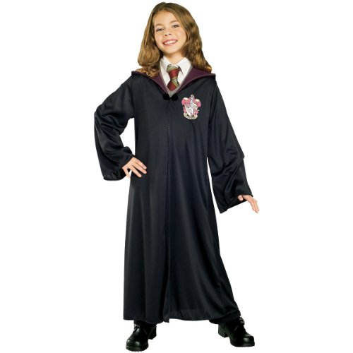 Rubies Costume Co Boys' Harry Potter Gryffindor Robe Costume Multicoloured Large