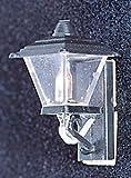 Dollhouse &mh628: Black Coach Lamp
