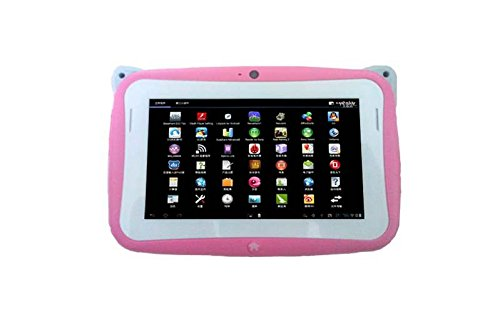 4.3 Inch Android4.2 Children Kids Game Tablet Pc Birthday Christmas Gift Camera Pink