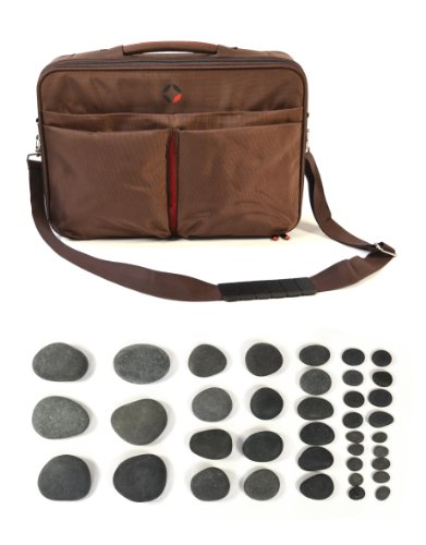 Vulsini Mobile Stone Heater Bag with 38 Basalt Stone kit