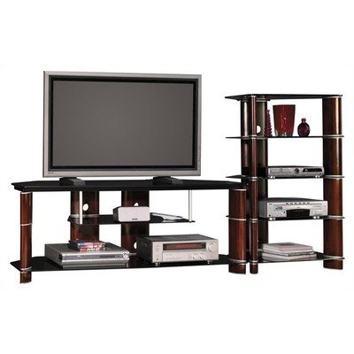 Segments Collection 58″ TV Stand and Audio Tower (AD11540-A-03, VS11560-03)