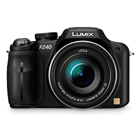 Panasonic Lumix DMC-FZ40 14.1 MP Digital Camera with 24x Optical Image Stabilized Zoom and 3.0-Inch LCD (Black)