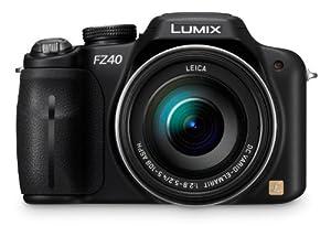 Panasonic Lumix DMC-FZ40 14.1 MP Digital Camera with 24x Optical Image Stabilized Zoom and 3.0-Inch LCD - Black