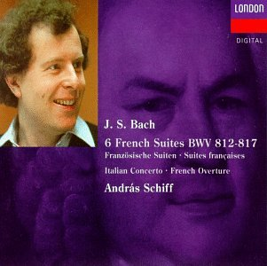 Bach : Suites anglaises, françaises et partitas pour clavier 41DH03SQFYL