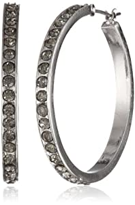 "Kenneth Cole York ""Marquis Stone"" Crystal Hoop Earrings by Kenneth Cole New York"
