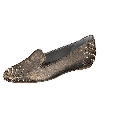 Maripé 18205 Donna Pantofola In Pelle Sunshine Oro Italia - Sunshine Oro, 39 UE
