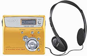 Sony MZ-N505 Net MD Walkman Player/Recorder (Gold)