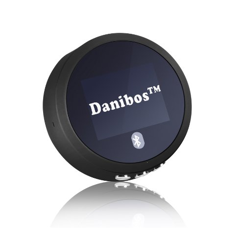 Danibos Nfc-Enabled Bluetooth Audio Receiver With Aptx Technology For Home Stereo For Car (Black)