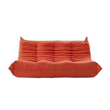 Fantastic 675 Lexmod Waverunner Modular Sectional Sofa Orange Evergreenethics Interior Chair Design Evergreenethicsorg
