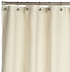 Peacock Alley Alyssa Shower Curtain Standard Natural Home Kitchen