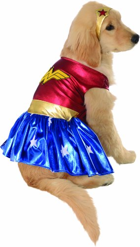 DC Comics Wonderwoman Dog Costume