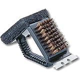 キャプテンスタッグ バーベキュー レスト鉄板焼器・アミ用ブラシトライアングル M-7634
