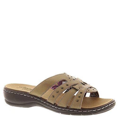 Skechers USA Passenger Slide Women's Sandal 8 B(M) US Taupe