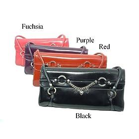 XOXO Cassie Patent Leather Handbag