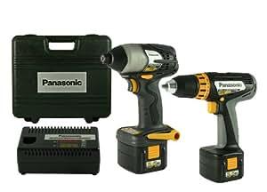 Panasonic EYC102B 12-Volt NiMH 2-Tool Cordless Combo Kit