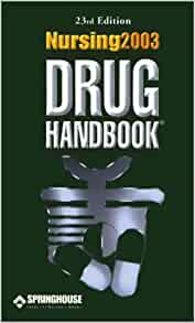 nursing 2018 drug handbook amazon