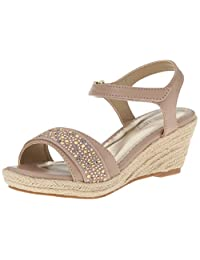 Nine West Emma Wedge Fashion Sandal (Little Kid/Big Kid)