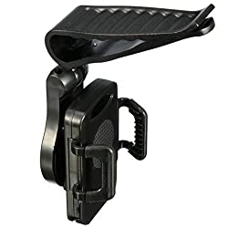 Universal 360° Car Sun Visor Clip Mount Holder Bracket For HTC One M7 M8