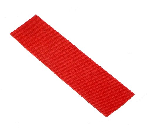 Upfront Qvu Replacement Cricket Bat Toe Guard - Red