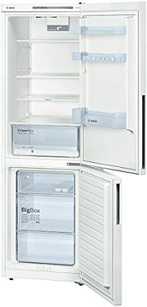 Bosch KGV36UW30S réfrigérateur-congélateur - réfrigérateurs-congélateurs (Autonome, Bas-placé, A++, Blanc, SN, T, 4*)