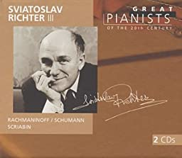 Sviatoslav Richter III (Great Pianists of the 20th Century, Vol. 84)