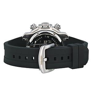 Nautec No Limit UO QZ/RBSTIPBK-OR - Reloj cronógrafo de cuarzo para hombre con correa de caucho, color negro de Nautec No Limit