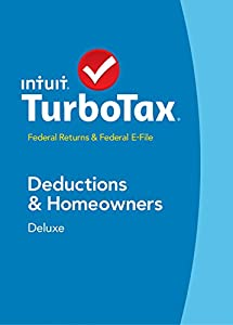 TurboTax Deluxe 2014 Fed + Fed Efile Tax Software +