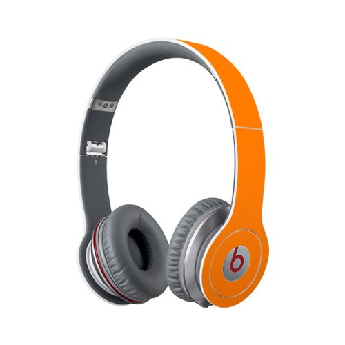 Beats Solo Full Headphone Wrap In Orange (Headphones Not Included)