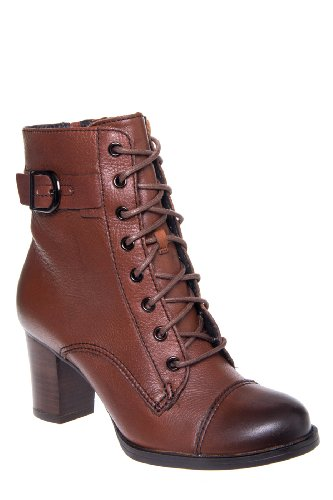 Clarks Artisan Jolissa Gypsum High Heel Lace Up Bootie