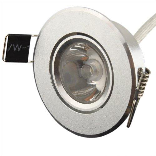 Generic 1W White Aluminum LED Ceiling Lights